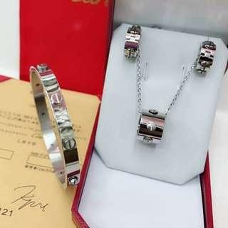Cartier Jewelry Set COD #008