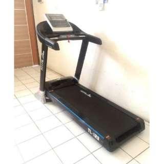 Treadmill Elektrik Motor 3 HP TL 123 Total Fitness Harga Murah