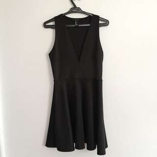 Forever 21 Plunging Neoprene Dress
