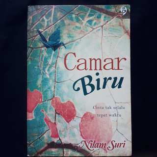 Novel Camar Biru by Nilam Suri (Gagas Media)