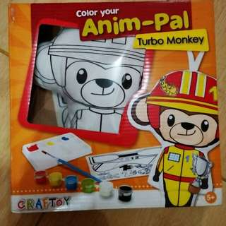 Color your Anim-Pal (Turbo Monkey & Super Kitty)