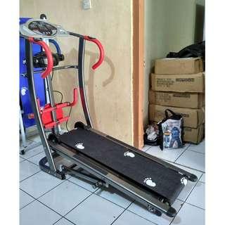 Treadmill Listrik TL 006 6 Fungsi with Massager Plus Twister Terlaris