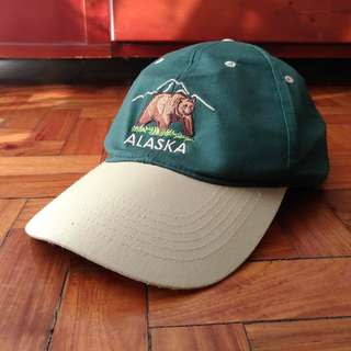 Alaska Embroidered Baseball Cap