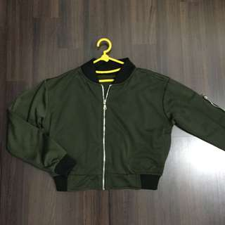 Crop Army bomber