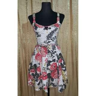 Floral Summer Mini Dress