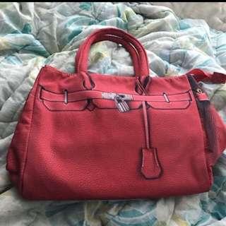 Riccini 紅色手袋