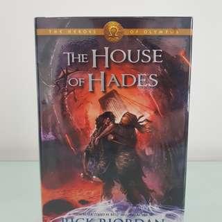 House of Hades by Rick Riordan -Hardbound