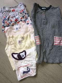 Petit Bateau baby Girl BUNDLE sales 18-24m