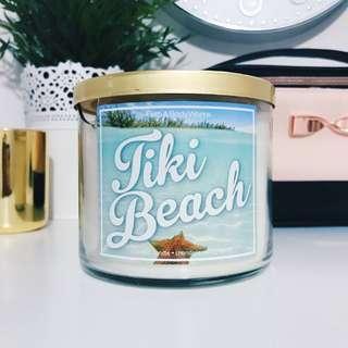 Bath & Body Works Tiki Beach 3-Wick Candle