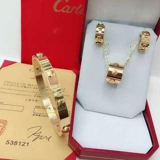 Cartier Jewelry Set #10 COD