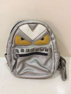 Fendi Inspired Mini Backpack