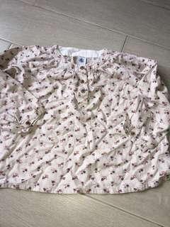 Petit Bateau baby Girl blouse shirts 3-4y