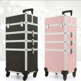 Makeup trolley for professional