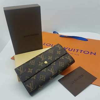 Louis Vuitton Flap Purse Monogram