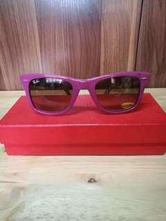 Ray Ban Limited Edition Pink Sunglasses