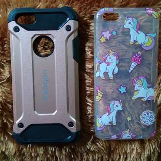 Case unicorn dan spigen iphone 5c