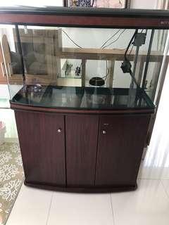 Aquarium Mewah merk BONU harga termurah like new