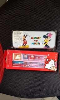🚚 迪士尼鉛筆盒 & 文具組