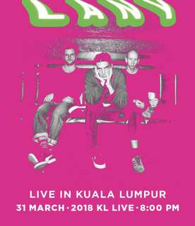 Lany LIVE in KL ticketsx2