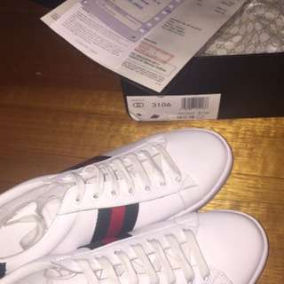 Gucci Ace Sneaker Size 9 US