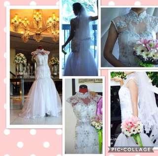 Pre-loved Elegant Wedding Gown