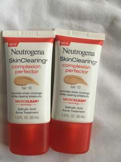 Skin clearing complexion perferctor