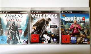 Ubisoft PS3 games cheap!
