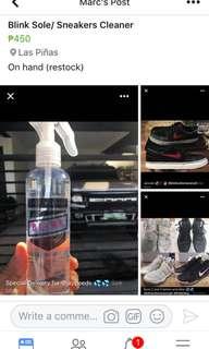 Blink Shoe Cleaner