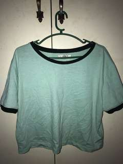 Forever 21 Mint Green Sports Top (drifit)
