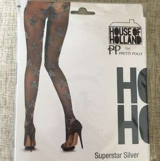 House of Holland Star Stockings
