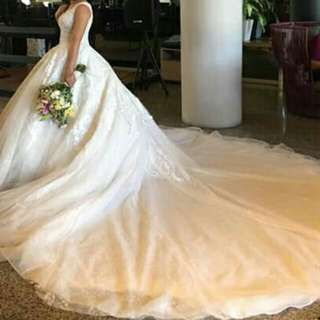 Bridal Ball Gown with Lots of Freebies