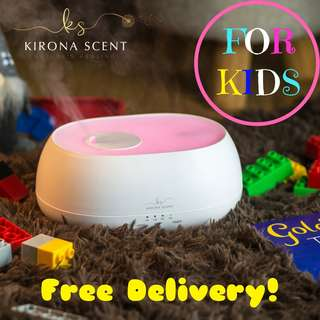NEW REMOTE CONTROLLED 500ml Humidifier / Aroma Diffuser /with FREE 30ml Essential Oil / 7 LED LIGHTS / AROMATHERAPY OILS.
