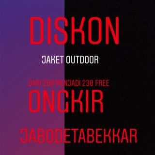 Jaket Outdoor Diskon