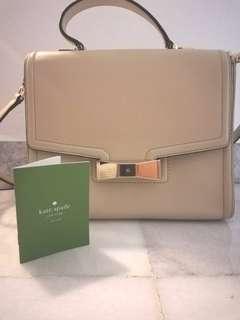 [PL] Genuine Kate Spade Nude Handbag/Sling Bag