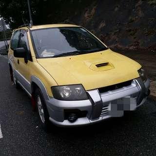 1999 MITSUBISHI RVR TURBO 4WD