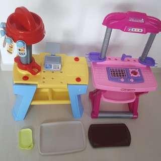 Kitchen + Cashier Set