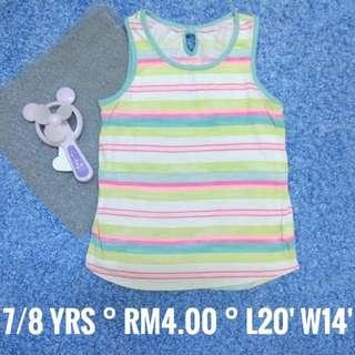 7/8 years old : Kids Cloth Shirt Dress Baby Girl Boy