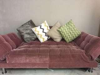 Sofa dusty pink