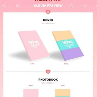 TWICE Mini Album Vol.5 - WHAT IS LOVE (PROMOTION with free gift)