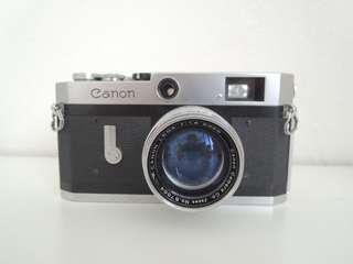 Canon P rangefinder
