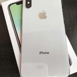 近全新 Apple iPhone X 64g 銀