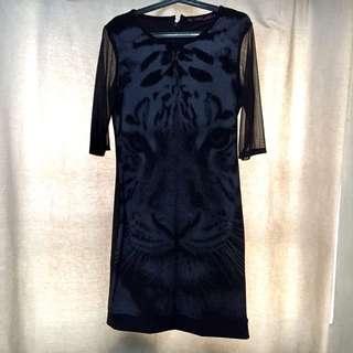 Tiger-designed Dress