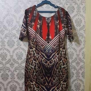 Animal Print Dress (S-M)