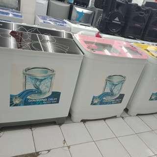 Mesin cuci denpoopaling murah bisa kredit tanpa Kartu Kredit