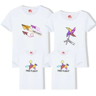 Couple / Family Matching Outfits Printed Tees / T-Shirts / Tops / Clothes / Casual Fashion Wear / Street Style