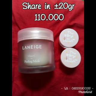 Laneige Clear C Peeling Mask share in ±20gr