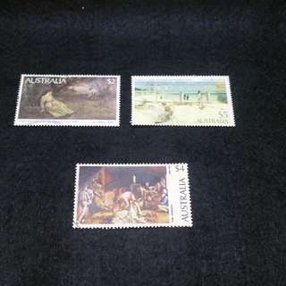 AUSTRALIA STAMPS - 2 SETS USED