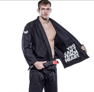 BJJ GI hyperfly Icon Black A2