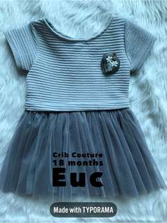 Crib Couture Dress 18 months