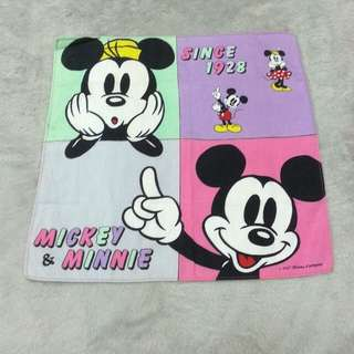 Mickey & Minnie Handkerchief